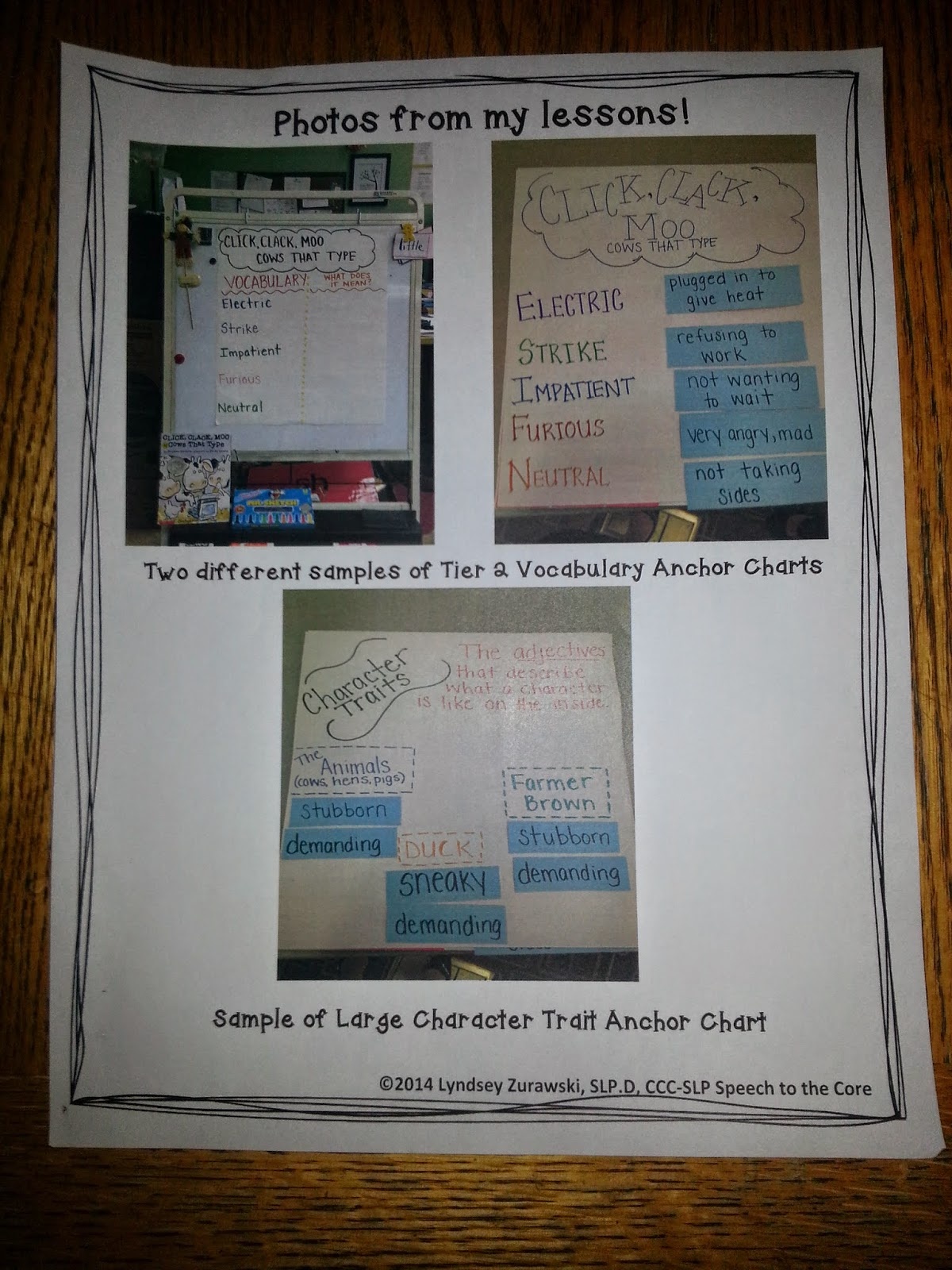 5 Star Ideas For Slps Click Clack Moo Cows That Type By Speech