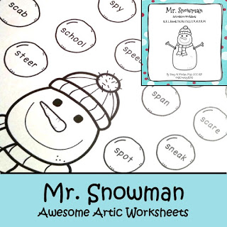 Mr. Snowman Awesome Artic!