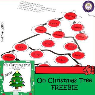 Speechie Freebies – Christmas