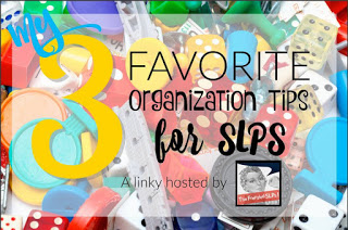 Favorite Organizational Tips for SLPs
