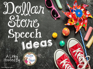 Dollar Store Speech Ideas!