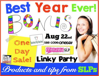 Best Year Ever! Bonus Sale Products and Tips from SLPs