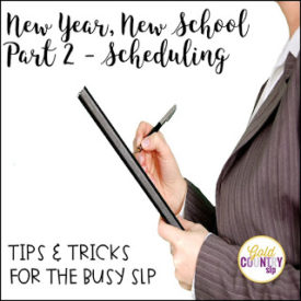 Scheduling – Tips & Tricks for the Busy SLP