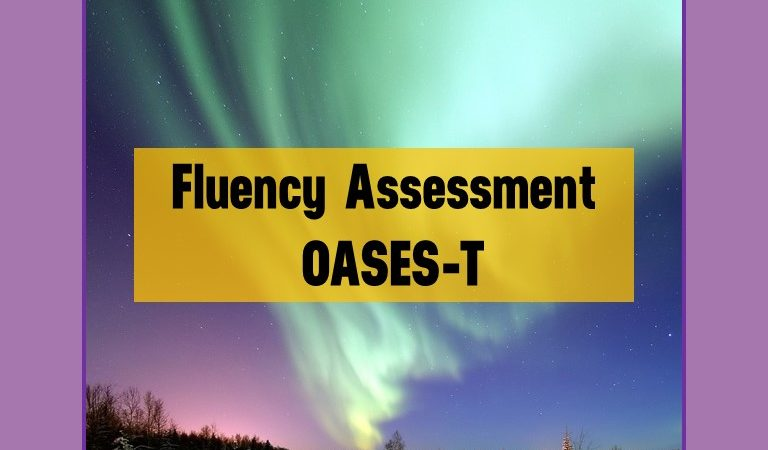 Fluency Assessment for Older Students
